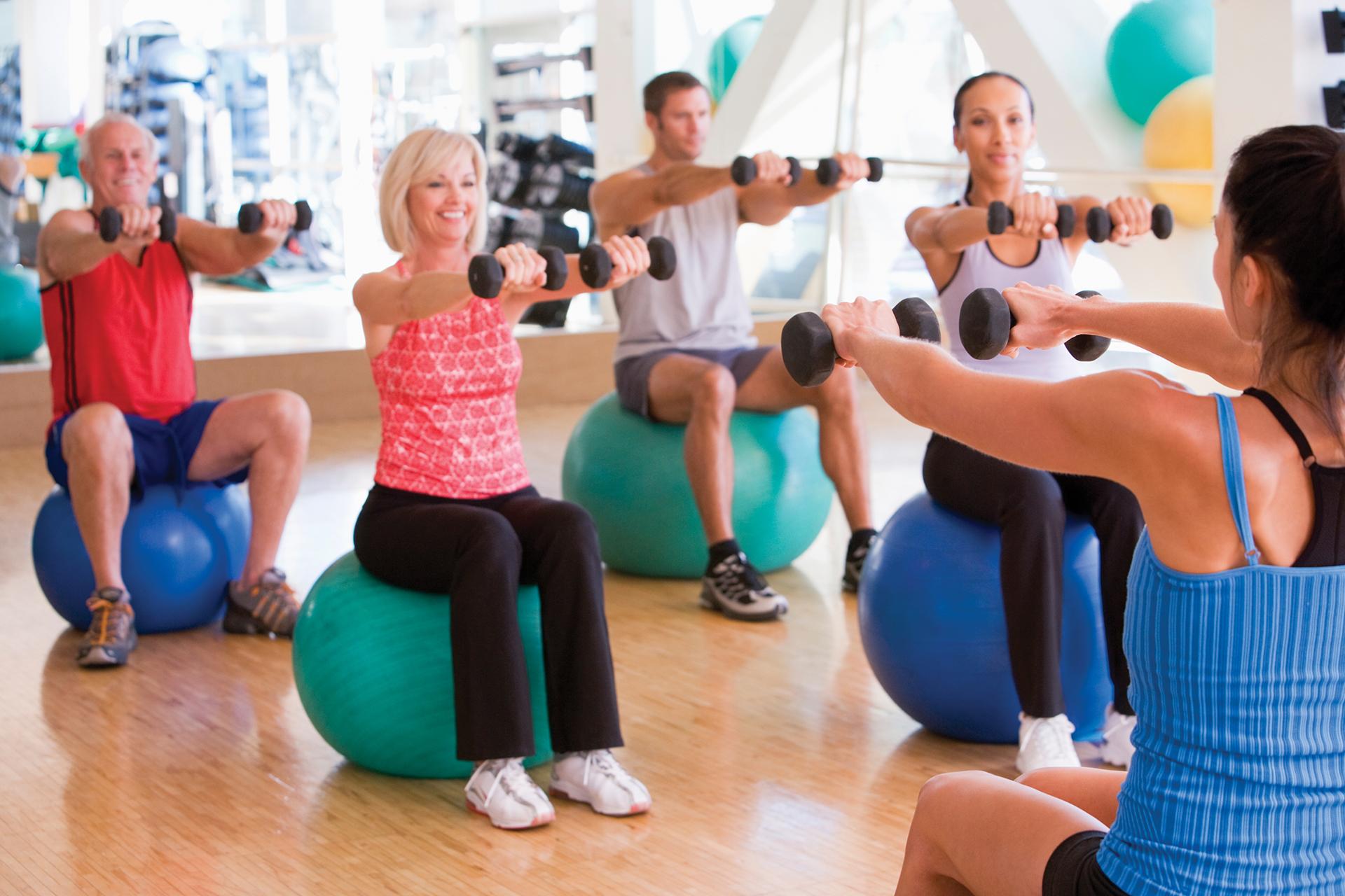фитнес клуб программа похудения